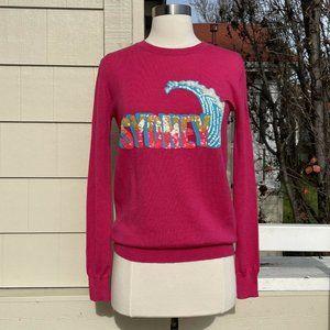 Markus Lupfer Sydney Sequined Merino Wool Sweater